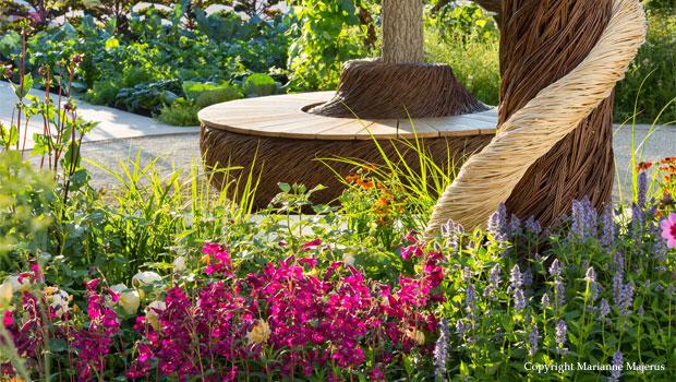 Community garden for Blind Veterans UK Centenary Hampton