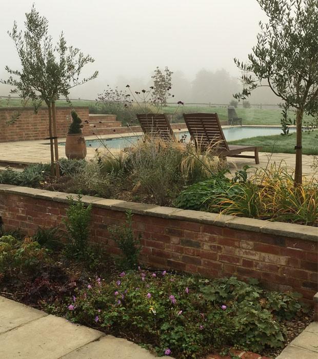 Landscape Design Surrey: Surrey Barn Conversion