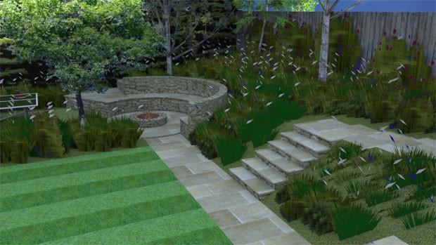 year round planting interest garden design