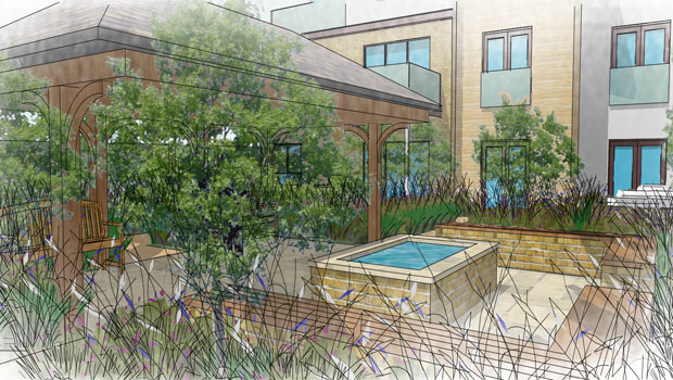Care home garden design